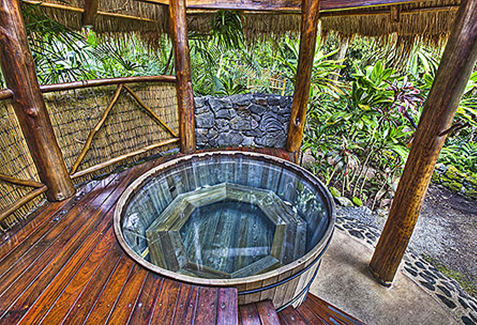 Hot Tub at Hawaiian Spa, Kona, HI